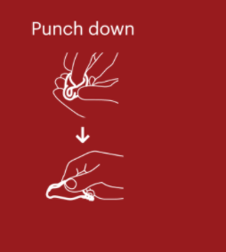 Punch down
